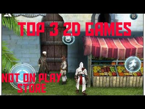 Top 3 2D Games (not Available On Play Store) Offline
