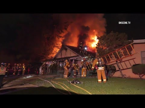 Harbor City: Pack-Rat Conditions Complicate Fire