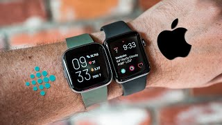Fitbit Versa 2 vs Apple Watch Series 3