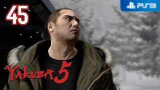 Yakuza 5 【PS3】 #45 │ Part 2: Taiga Saejima │ Chapter 3: Frozen Roar