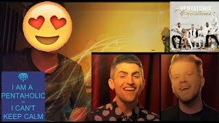 [OFFICIAL VIDEO] O Come, All Ye Faithful - Pentatonix REACTION!!! (PENTAHOLIC VIRGIN)