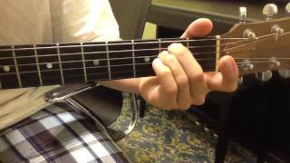 주님 다시오실때까지 기타 연주법(7코드)