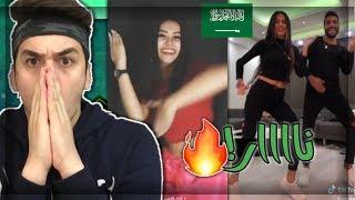 الفرق بين العرب والاجانب في تحدي الرقصة الهندية في تيك توك!