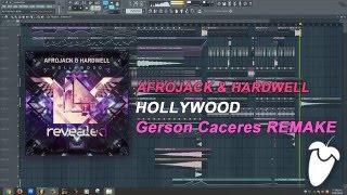 Afrojack & Hardwell - Hollywood (Original Mix) (FL Studio Remake + FLP)