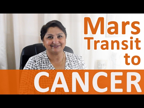 Mars Transit Cancer: Abundant Energy For Domestic As Well As Professional Activities