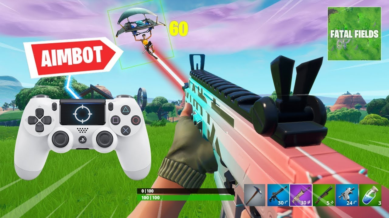 I used an aimbot controller in Fortnite... - YouTube