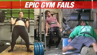 HEAVY LIFT CROSSFIT AND WEIGHTLIFTING STYLE | EPIC GYM FAILS