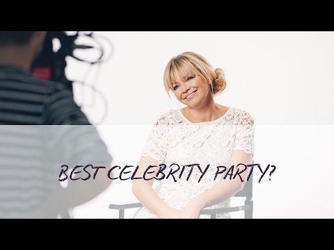 Kate Thornton, Natalie Appleton, Denise Van Outen On Celebrity Parties