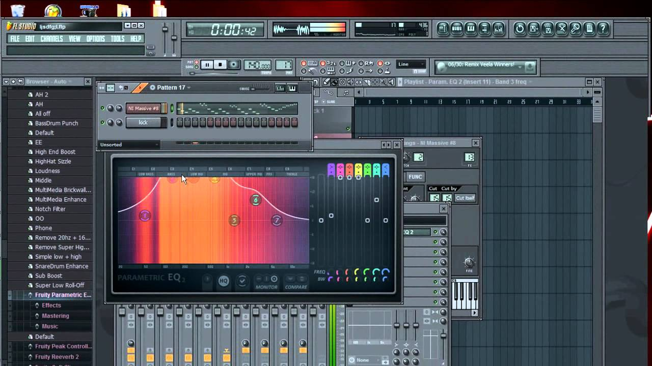 how to get pusling effect fl studio