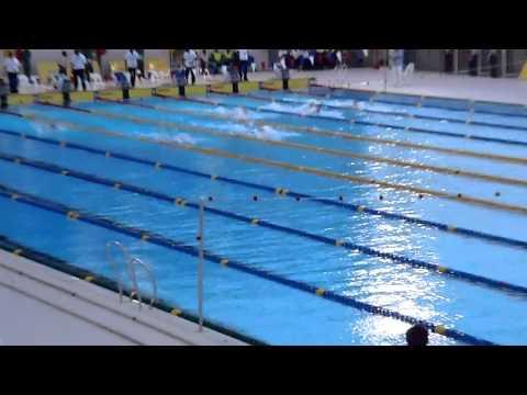 100m Backstroke Women -- All Africa Games 2011