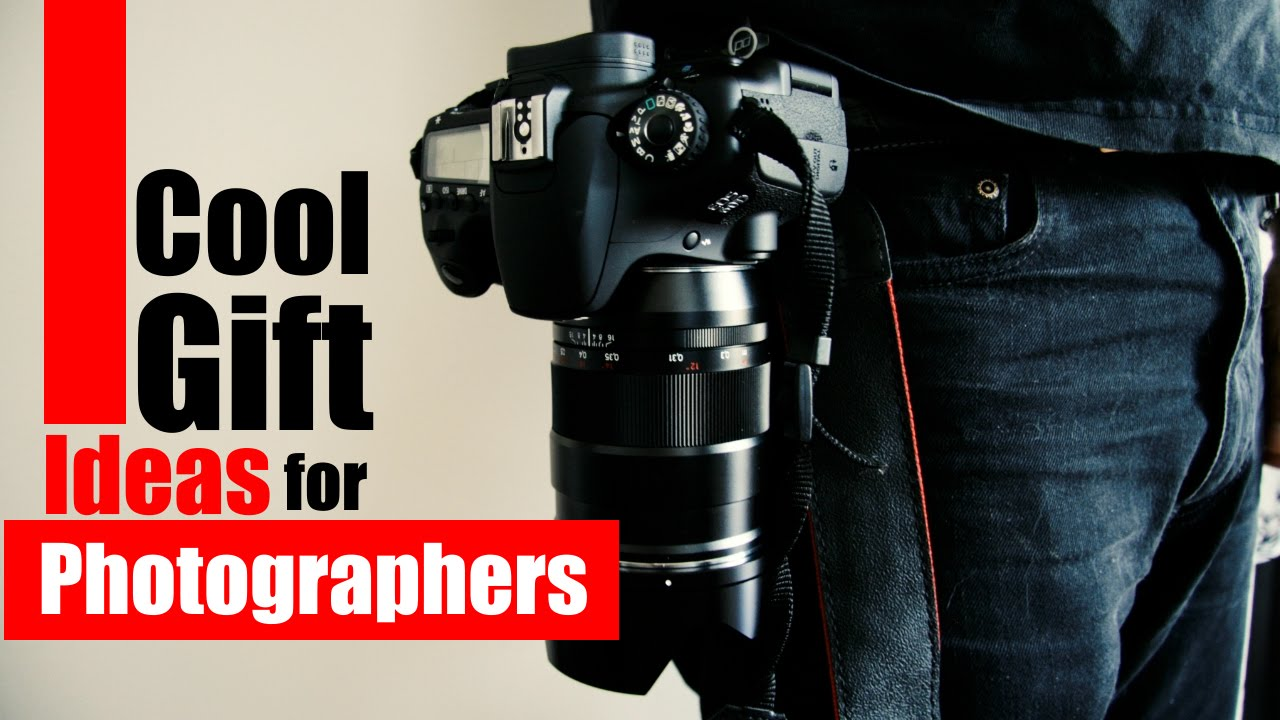 Cool gift ideas for photographers youtube negle Image collections