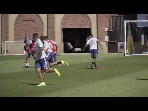 #SelecciónMayor Primeros trabajos pensando en el partido vs México