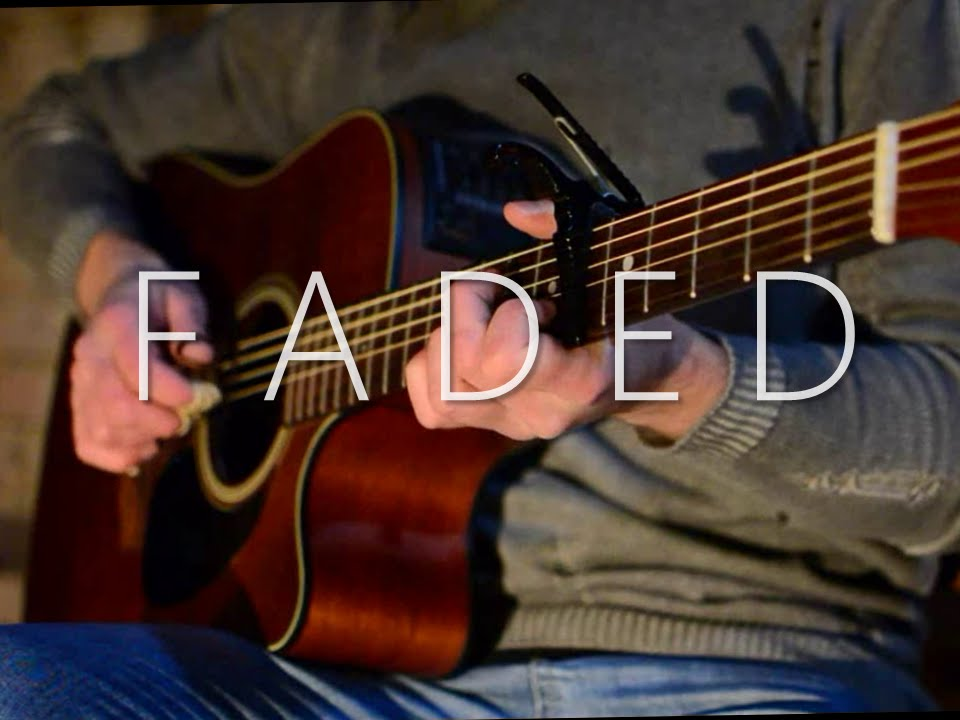 Alan Walker Faded Fingerstyle Guitar Cover With Tabs Youtube