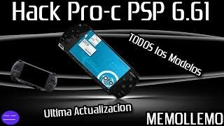Instalar Hack para PSP Versión 6.61  | Fat, Slim, 3000 |