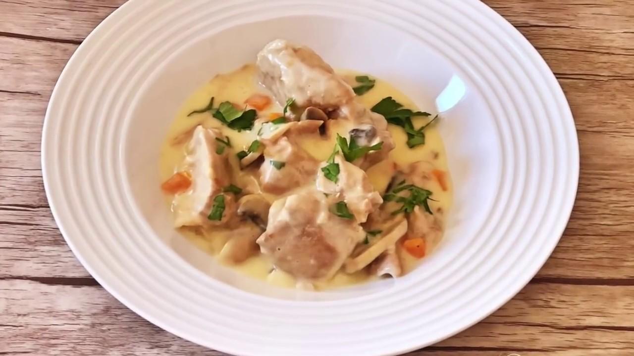 Бланкет из телятины (французская кухня) | кулинарный рецепт анастасии скрипкиной