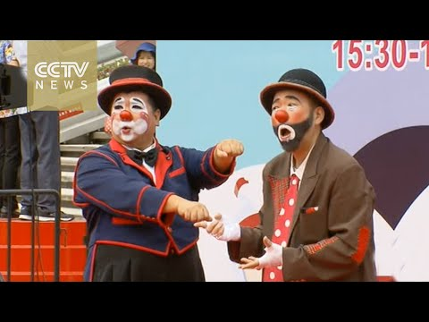 Clowns from 20 countries perform at Shanghai Tourism Festival