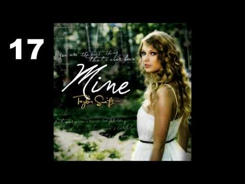 Top 25 Taylor Swift songs