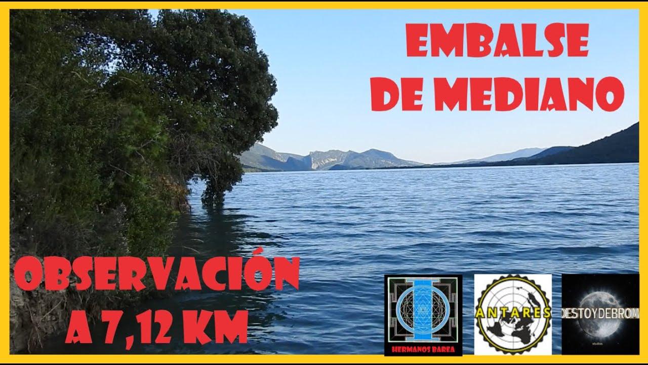 EMBALSE DE MEDIANO: OBSERVACIÓN A 7,12 KMS