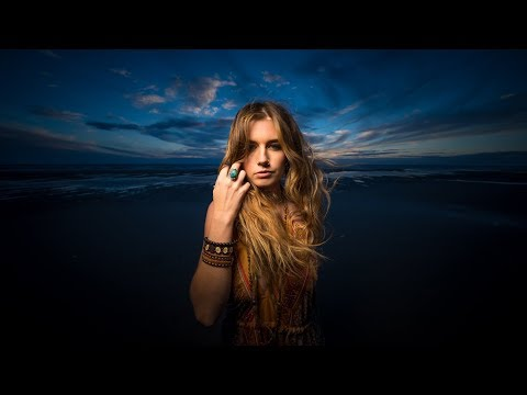Sony A9 beach shoot with Rotolight AEOS using high speed synch