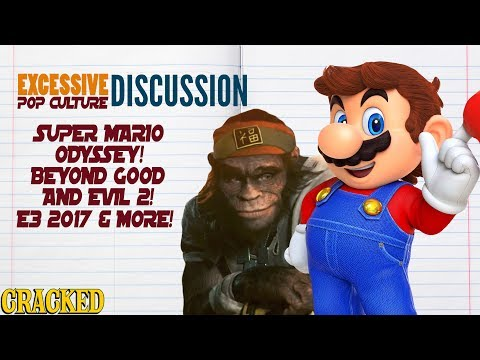 Super Mario Odyssey! Beyond Good and Evil 2! E3 2017 Review & More! – This Week In EPCD