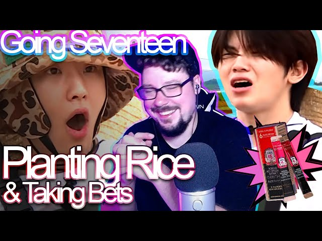 Mikey Reacts to GOING SEVENTEEN - Planting Rice and Taking Bets - Highlights