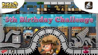 5th birthday 5th birthday challenge 4 diggys adventure