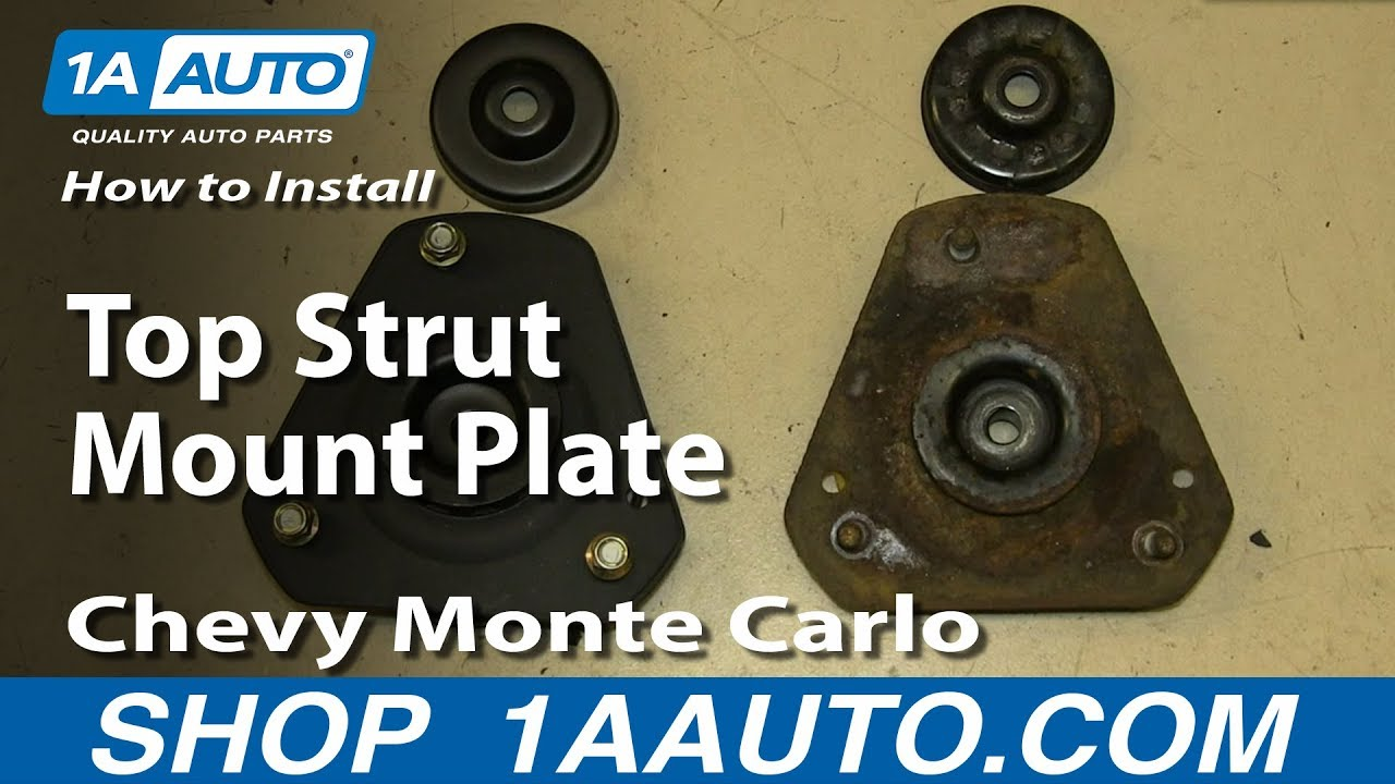How To Install Replace Top Strut Mount Plate 2000 07 Chevy Monte K5 Blazer Cruise Control Wiring Diagram Carlo