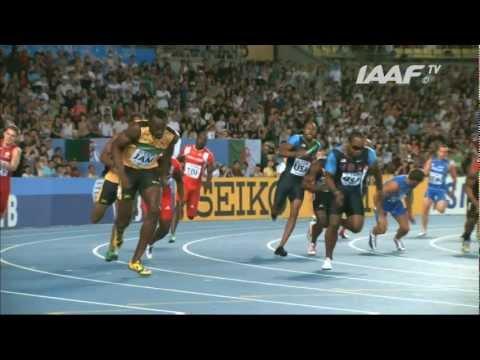 World Record - 4x100m Relay Men Final Daegu 2011