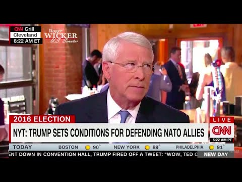 Senator Roger Wicker On CNN New Day l Roger Wicker For Senate