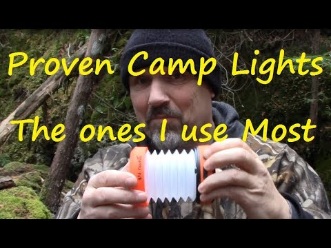 PROVEN Camp Lights I Use The Most