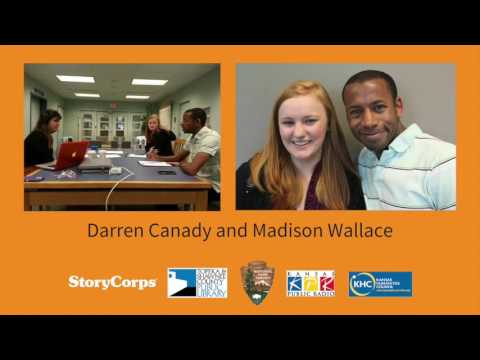 Topeka StoryCorps: 60 Years After Brown -- Darren Canady and Madison Wallace