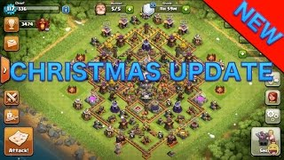NEW CHRISTMAS UPDATE! Clash of Clans 2015 NEW CHRISTMAS UPDATE COC UPDATE