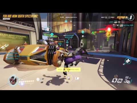 Overwatch: Symmetra's Numbani Defense