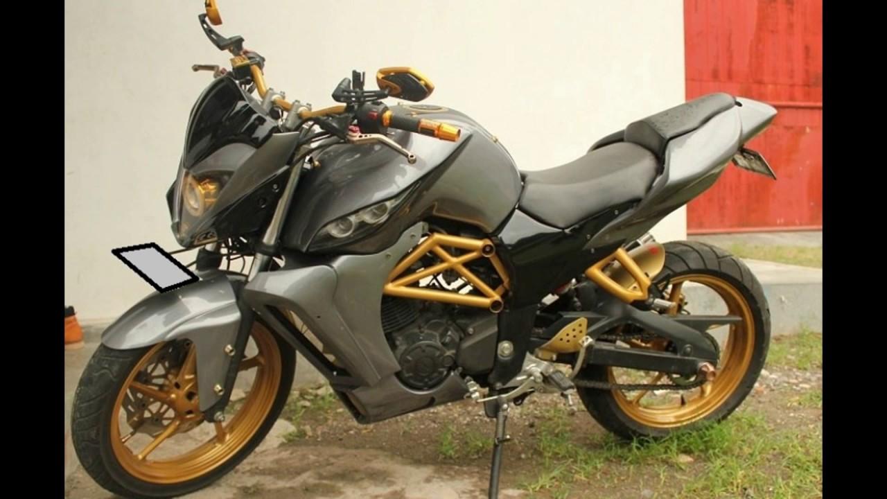 Cah Gagah Modifikasi Motor Honda New Megapro Street Fighter