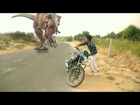 Jurassic World in Real Life   Jurassic World Movie   By Varinder Vicky