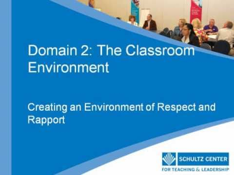 Creating an Environment of Respect and Rapport