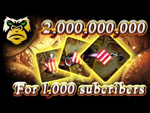 2 BILLION SILVER for 1,000 SUBCRIBERS! TRI  Basi / Tungrad / Crescent Enhancing!  [ PC Xbox ]
