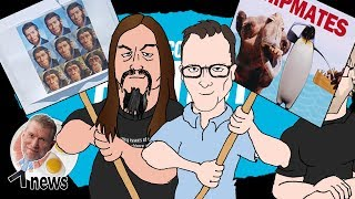 Ark Encounter Protest (feat. Seth Andrews and AronRa) - (Ken) Ham & AiG News