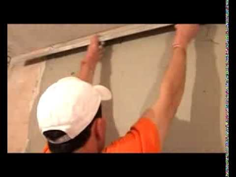 видео: Выравнивание стен своими руками Обучение