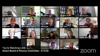 Nantucket Select Board and Finance Committee Joint Meeting  5/12/20