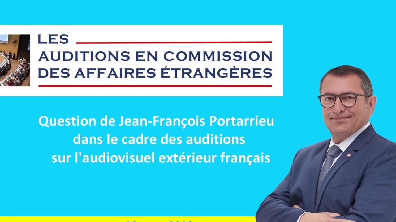 JEAN-FRANCOIS PORTARRIEU - CAE - AUDIOVISUEL EXTERIEUR FRANÇAIS - 190319