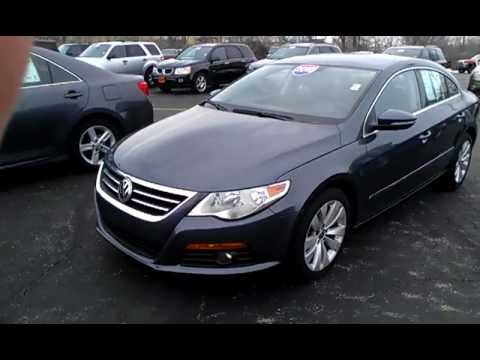 2010 Volkswagen CC Sport Sedan for sale Dayton Ohio, Grey, $16,974 - 2010 VW CC Sport