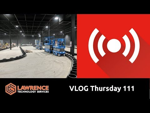VLOG Thursday 111: Wiring Project & MSP Talk About Our Solarwinds