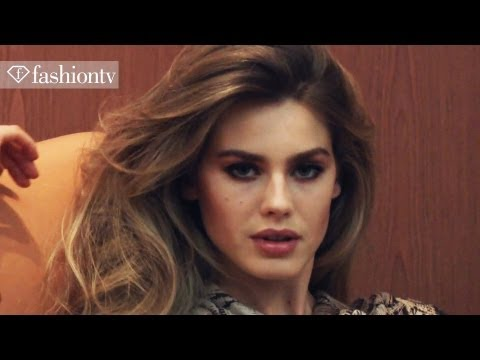 Go Behind The Scenes with Vanessa Hessler for Clips Fall/Winter 2012-13 Campaign Shoot | FashionTV