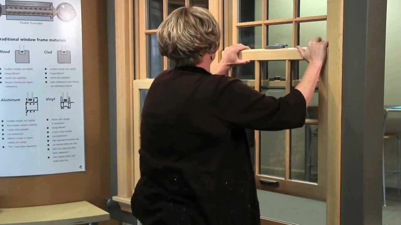 How To Tilt In Double Hung Windows Renewal By Andersen Of Central Pa You