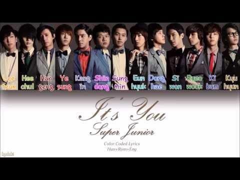 Super Junior (슈퍼주니어) – It's You (너라고) (Color Coded Lyrics) [Han/Rom/Eng]
