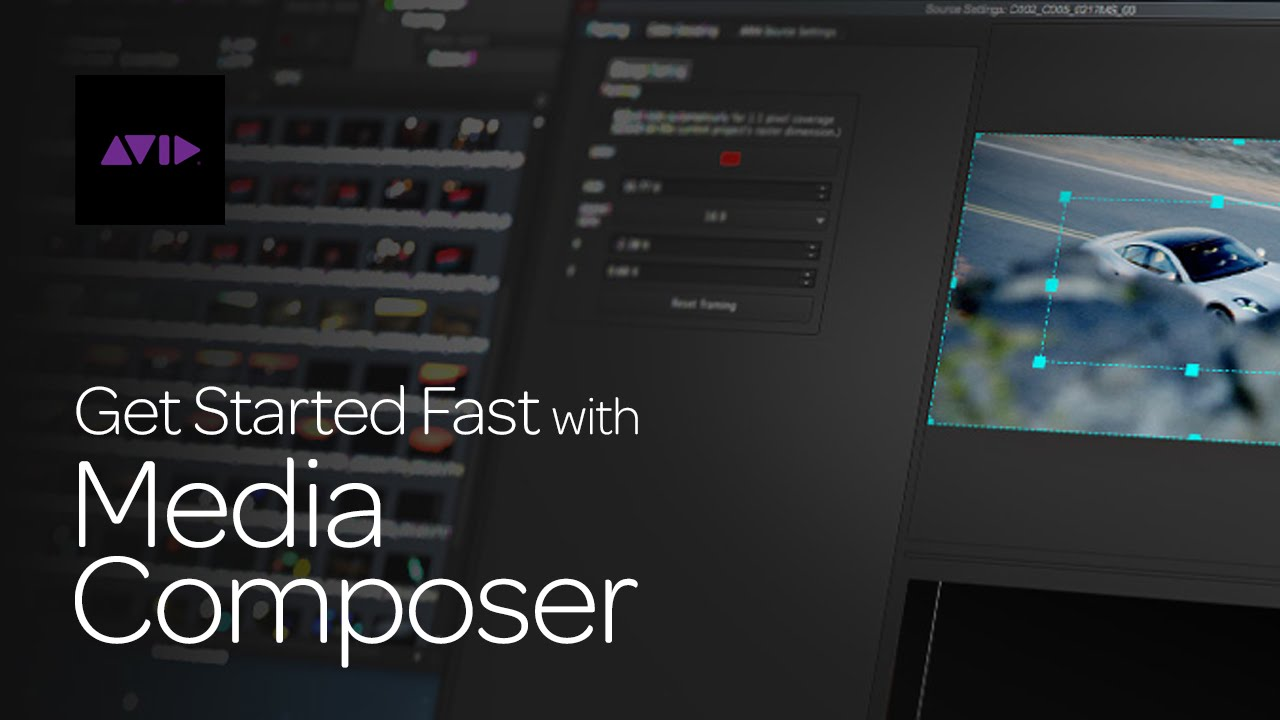 Get Started Fast With Avid Media Composer Episode 1 Youtube