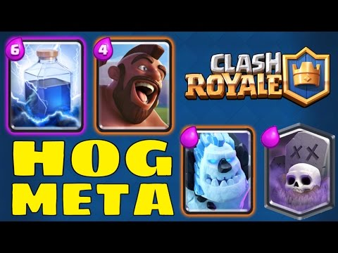 Clash Royale | HOG META | PRO DECKS [Jordan / Trainer Nick]