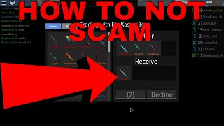 HOW TO NOT SCAM #1 - EARTH ELEMENTAL (ROBLOX ASSASSINS NOT SCAMMING)