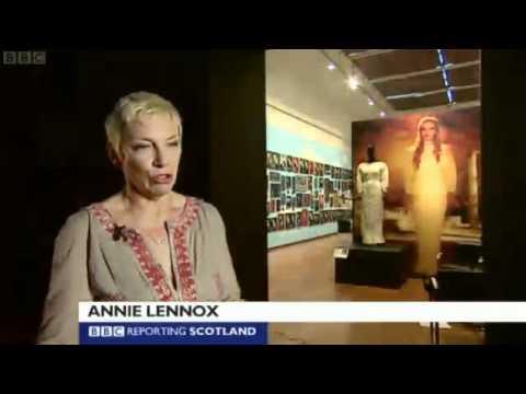 Annie Lennox - Aberdeen House Of Annie Lennox Exhibition Interview